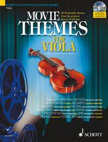 Movie Themes: Viola: Schott Master Play Along Series