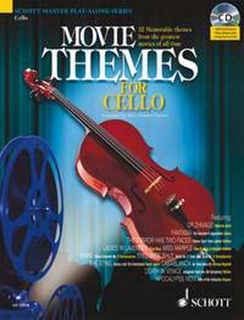 Movie Themes: Cello: Schott Master Play Along Series: Book & CD