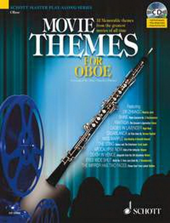 Movie Themes: Oboe: Schott Master Play Along Series