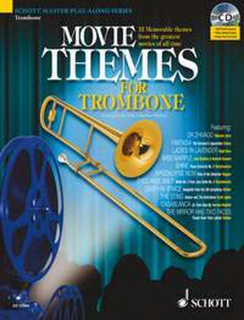 Movie Themes: Trombone BC: Schott Master Play Along Series
