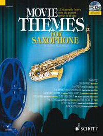 Movie Themes: Tenor Saxophone: Schott Master Play Along Series