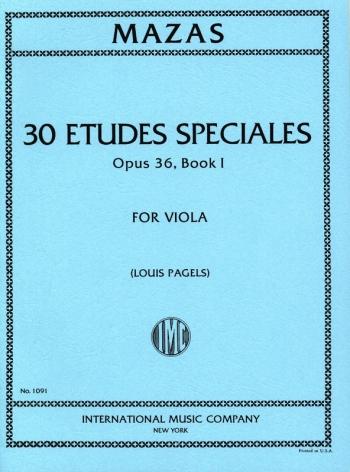 Special Studies: Op36 Book1: Viola