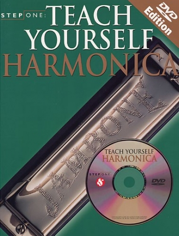 Step One Teach Yourself Harmonica: Bk&dvd