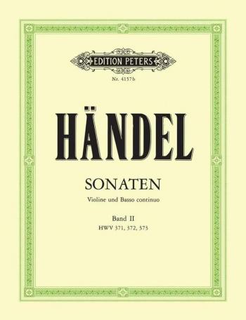 Sonatas vol 2: 4-6: Violin and Piano (Peters)