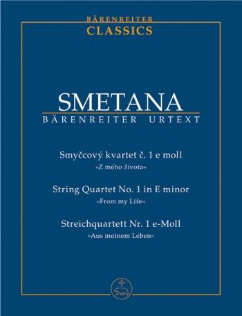 From My Life: No.1: String Quartet- E Minor: Miniature Score