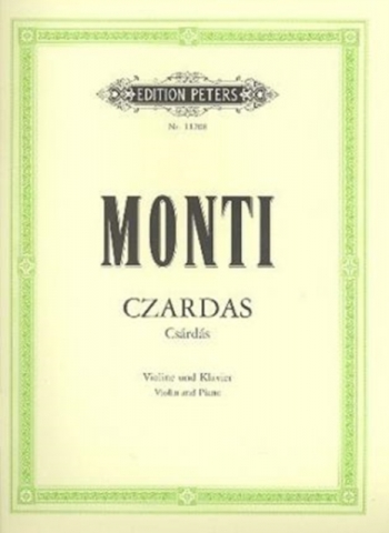 Czardas: Violin and Piano (Peters)