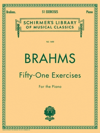 51 Exercises Piano (Schirmer)
