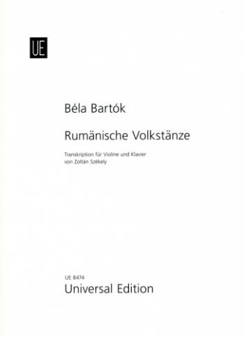Rumanian Folk Dances: Violin & Piano (Universal)