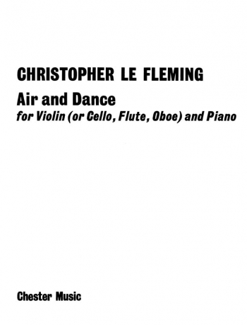 Air And Dance: Violin  Flute Or Oboe and Piano