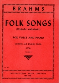 Folk Songs: Vol 1: Deutsche Volkslieder: Low Voice