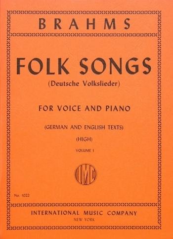Folk Songs: Vol 1: Deutsche Volkslieder: High Voice