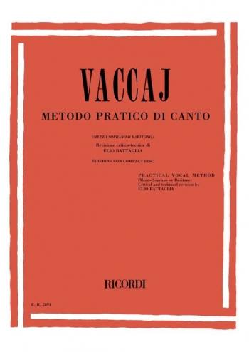 Practical Method (Metodo Pratico Di Canto): Medium Voice Book & CD (Ricordi)