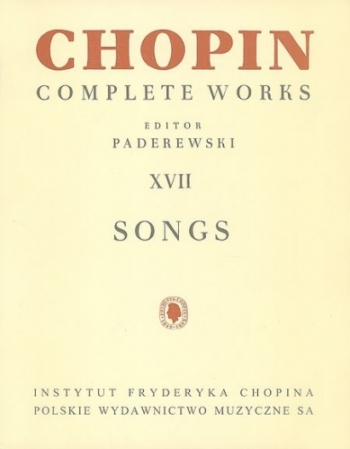 Songs Complete Works: Voice And Piano (Paderewski)