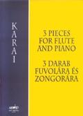 3 Pieces: Flute & Piano