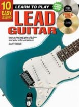 10 Easy Lead Guitar Lessons Teach Yourself: Book & CD & DVD