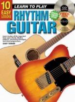 10 Easy Rhythm Guitar Lessons Teach Yourself: Book & CD & DVD