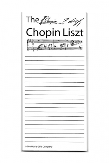 Chopin Liszt Shopping List