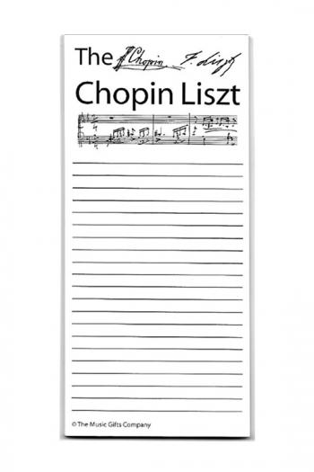 Chopin Liszt Shopping List