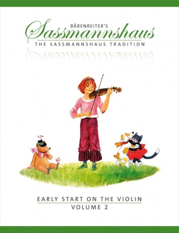 The Sassmannshaus Tradition. Early Start On The Violin, Volume 2