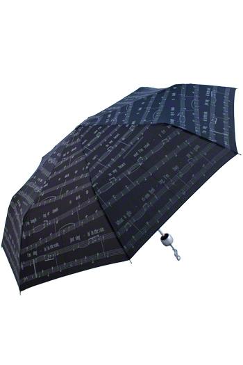 Singing In The Rain Umbrella - Black