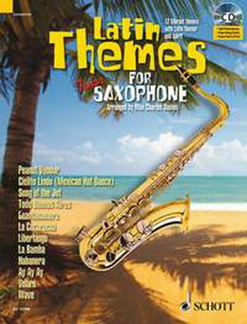 Latin Themes For Tenor Saxophone: Schott Master Play-Along