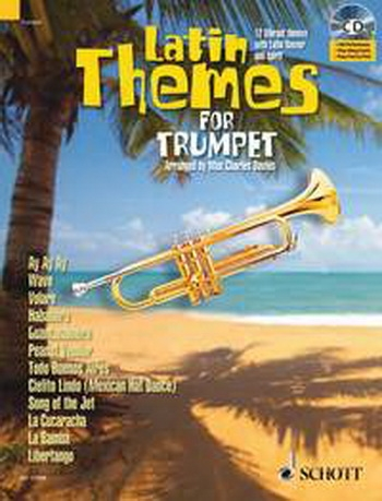 Latin Themes For Trumpet: Schott Master Play-Along