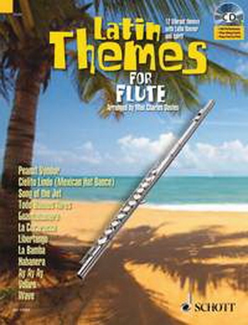 Latin Themes For Flute Schott Master PlayAlong: Book & CD