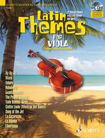 Latin Themes For Viola:Schott Master Play-Along
