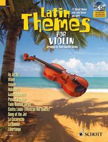 Latin Themes For Violin Schott Master Play-Along