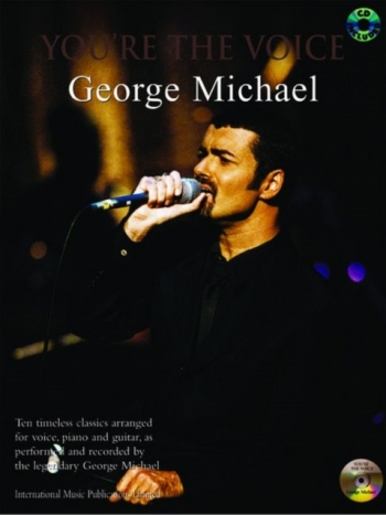 Youre The Voice: George Michael: Piano Vocal Guitar: Bk&cd