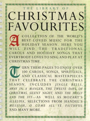 Library Of Christmas Favourites: Piano Vocal Guitar