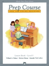 Alfred Basic Prep Course For the Young Beginner Lesson Book: Level F
