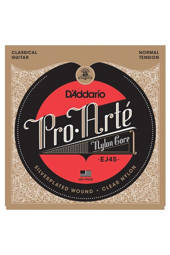 D'Addario Classical Guitar Ej45 Pro-Arte Nylon Normal Tension
