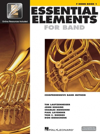 Essential Elements 2000: Book 1: French Horn: Book & CD Rom
