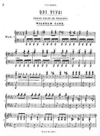 Qui Vive: Piano Duet (Archive Copy)