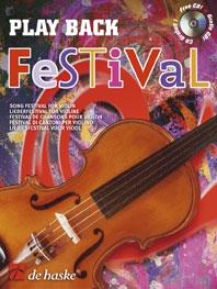 Play Back Festival: Violin: Bk&cd