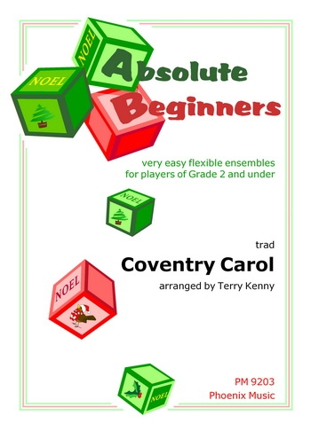 Absolute Beginners: Coventry Carol: 4 Part Flex Ensemble