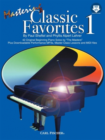 Mastering Classic Favourites Vol.1: Piano Book & CD