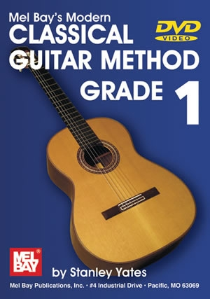 Mel Bay: 1: Modern Classical Guitar Method:  DVD