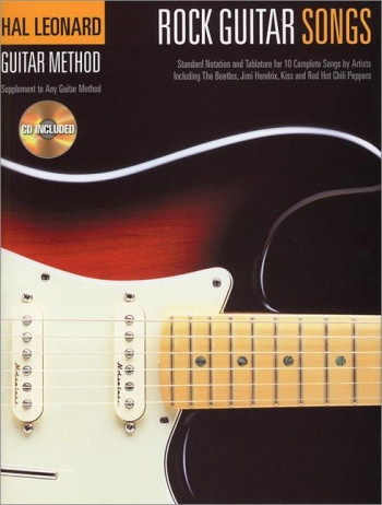 Hal Leonard Guitar Method: Rock Guitar Songs: Guitar: Bk & Cd