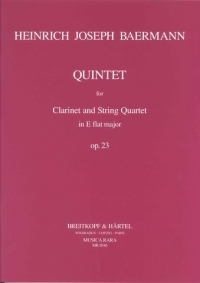 Quintet Eb Major: Clarinet and String Quartet