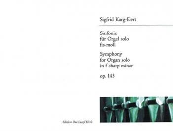 Symphony F# Minor for Organ  (Breitkopf)