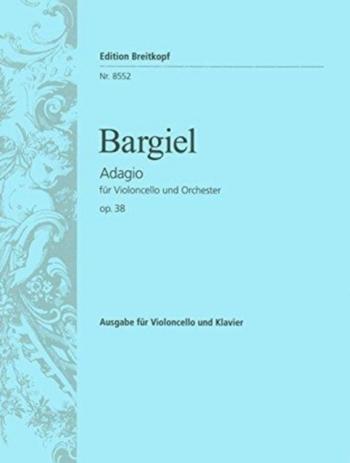Adagio Op38: Cello & Piano (Breitkopf)