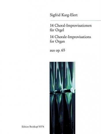 Chorale Preludes: Op65 Organ  (Breitkopf)