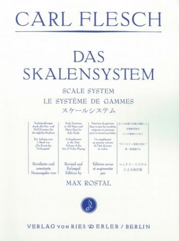 Flesch: Scale System: Violin