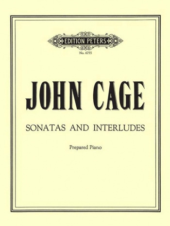 Sonatas and Interludes: Piano  (Peters)