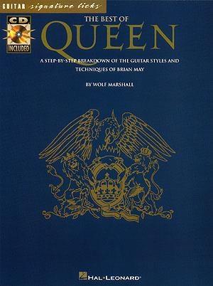 Signature Licks: Queen: Guitar Tab: Book & CD
