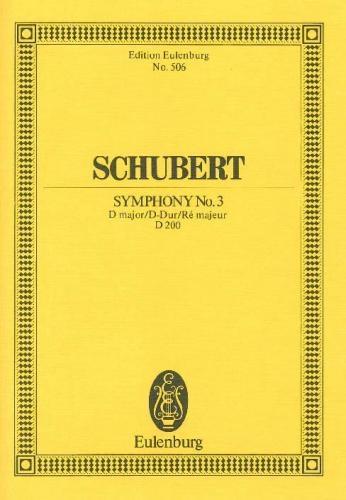 Symphony No.3: D Major: Miniature Score