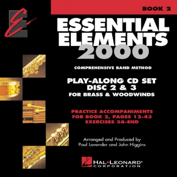 Essential Elements Book 2 Track 2,3 - Play Along Trax - 3 Cds