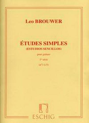 Etudes Simples (Estudios Sencillos) Série 1 (No 1-5) Guitar (Eschig)